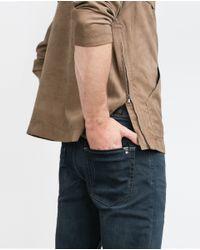 Zara | Blue Slim Jeans for Men | Lyst