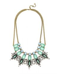 BaubleBar - Blue Tiny Dancer Bib - Lyst