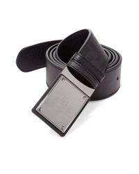 Fendi | Black Zucca Reversible Belt for Men | Lyst