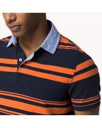 Tommy Hilfiger | Multicolor Cotton Slim Fit Polo for Men | Lyst