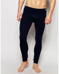 Emporio Armani - Blue Super Skinny Meggings for Men - Lyst