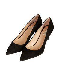 TOPSHOP | Black Jester Kitten Heels | Lyst