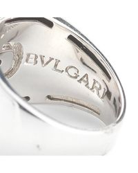 BVLGARI | Metallic Pre-owned: Bvlgari Parentisi 18k White Gold Lady Ring | Lyst