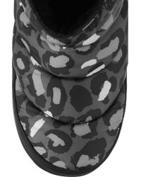 Marc By Marc Jacobs - Gray Macdougal Animal-print Shell Boots - Lyst