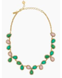 kate spade new york - Green Balloon Bouquet Cluster Necklace - Lyst