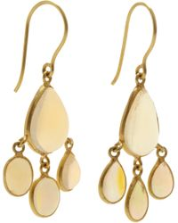 Pippa Small - Yellow Opal Urchin Earrings - Lyst