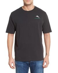 Tommy Bahama | Black 'mow Is Never Enough' Crewneck T-shirt for Men | Lyst