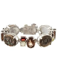 Stephen Dweck | Metallic Silver-tone Blue Stone Bracelet | Lyst