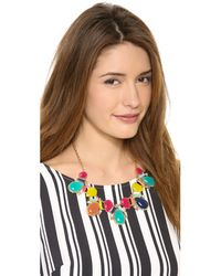 kate spade new york - Multicolor Almalfi Mosaic Short Necklace - Lyst