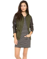 Club Monaco | Green Alixi Jacket | Lyst