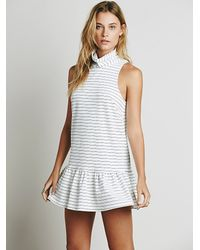 Free People | Gray The Fifth Womens River City Dress | Lyst