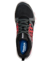 Reebok - Red Men's Sublite Train Rs 2.0 Training Sneakers From Finish Line for Men - Lyst