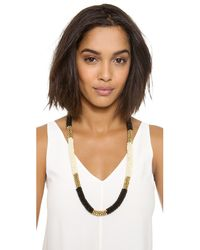 By Malene Birger - Black Savia Necklace - Lyst