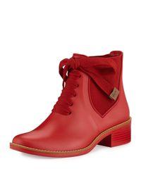 Bernardo | Red Lacey Rain | Lyst