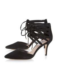 Dune - Black Cristina Ghillie Lace Up Court Shoe - Lyst