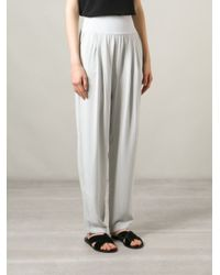 Humanoid - Gray 'Canon' Trousers - Lyst
