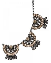 BaubleBar | Metallic Crystal Mantilla Collar | Lyst