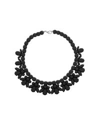 TOPSHOP - Black Jelly Plastic Necklace - Lyst