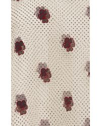 Vilshenko - Multicolor Leah Double Layered Silk Organza Top - Lyst