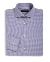 Ralph Lauren | Purple Classic-fit Check Dress Shirt for Men | Lyst