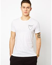 Blood Brother - White Innocent Tshirt for Men - Lyst