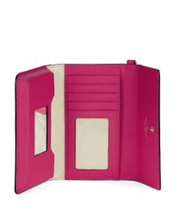 Kate Spade | Pink Cedar Street Leather Tech Wristlet | Lyst