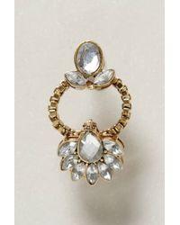 Anthropologie - Metallic Jasminum Earrings - Lyst