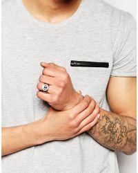 Simon Carter - Metallic Imon Carter Anchor Ring for Men - Lyst