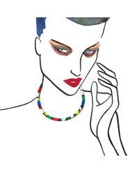 Alyssa Norton | Black Graffiti Necklace | Lyst