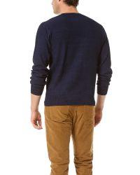 Paul Smith - Blue Crew Neck Knit Shirt for Men - Lyst