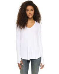 Feel The Piece | Thermal Robin Top - White | Lyst