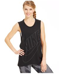 Nike | Black Signal Muscle Tank | Lyst