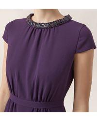 Hobbs - Purple Alwena Maxi Dress - Lyst