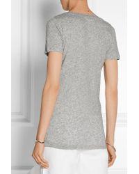 J.Crew - Gray Vintage Cotton-jersey T-shirt - Lyst