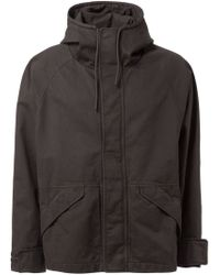 Yeezy | Black Adidas Originals By Kanye West Hooded Jacket for Men | Lyst