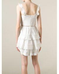 Étoile Isabel Marant - White 'Casey' Dress - Lyst