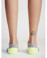 Free People - Pink Rally Ankle Sock - Lyst