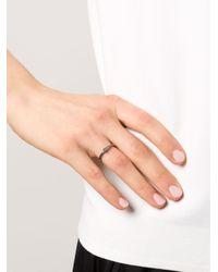 Rosa Maria | Black Britt Ring | Lyst