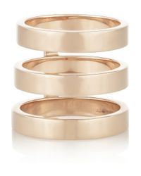 Repossi | Metallic Berbère 18karat Rose Gold Phalanx Ring | Lyst