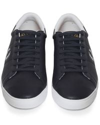 Stussy | Blue Spencer Perforated Trainers | Lyst