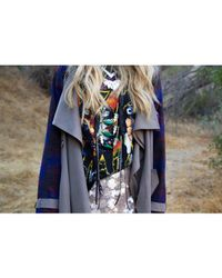 Love Leather | Multicolor Chrome Forest Necklace | Lyst