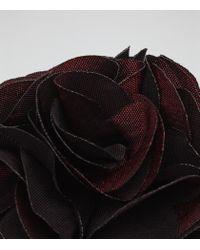 Reiss - Purple Piani Flower Dress Pin for Men - Lyst