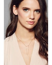 Forever 21 - Metallic Amarilo Carlotta Necklace - Lyst