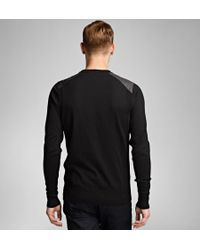 Belstaff - Black Ridgewell Crew Neck Sweater for Men - Lyst