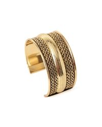 Forever 21 | Metallic Braided Cuff Bracelet | Lyst