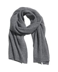 H&M | Gray Scarf In A Cashmere Blend | Lyst