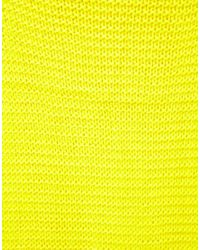 Pepe Jeans - Yellow Neon Oversized Scarf - Lyst