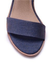Splendid | Blue Kayman Leather Sandals | Lyst