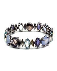 Alexis Bittar - Blue Mystic Marquis Bracelet With 18k Gold You Might Also Like - Lyst