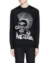 Haculla | White Embroidered Doodle Sweatshirt for Men | Lyst